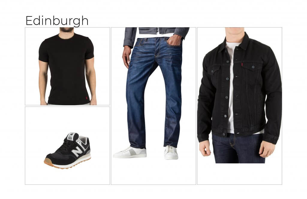 Edinburgh's favourite outfit