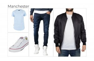 Manchester's favourite outfit